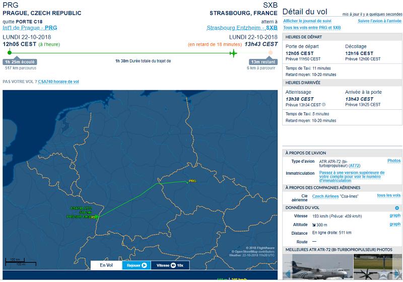FlightAware-Suivi des vols