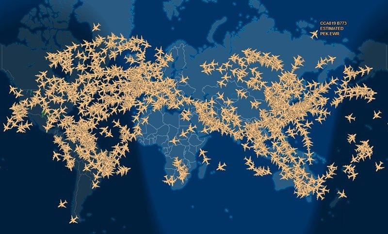 FlightAware — suivre les vols en ligne