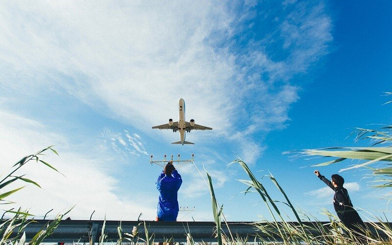 Trafic aerien en direct