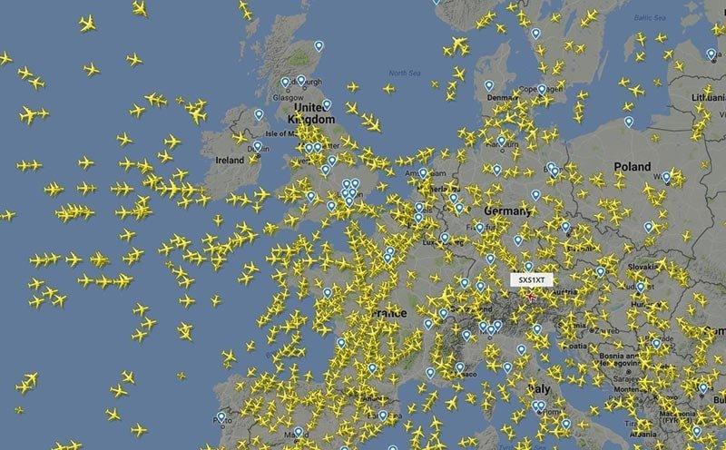 Flightradar24 en ligne