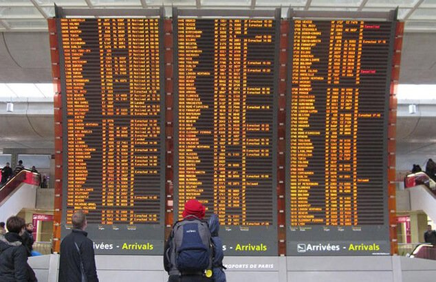 Aeroport Charles de Gaulle Arrivée