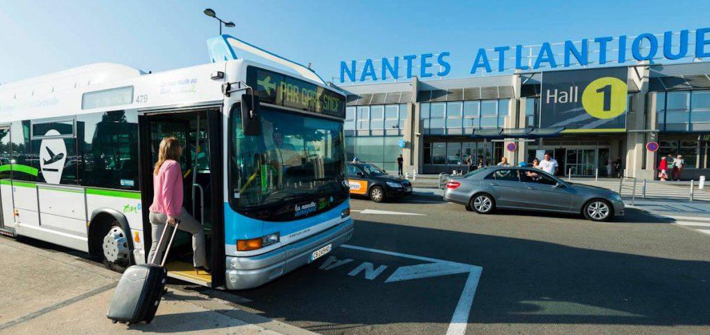 Nantes Atlantique bus