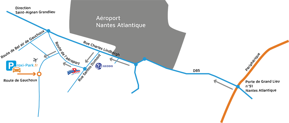 Nantes Atlantique parking
