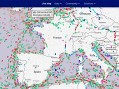 Marine Traffic – Radar bateau
