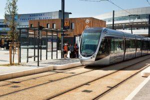Le tramway Aéroport Toulouse