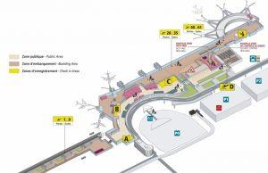 Les terminaux de l'aéroport de Toulouse