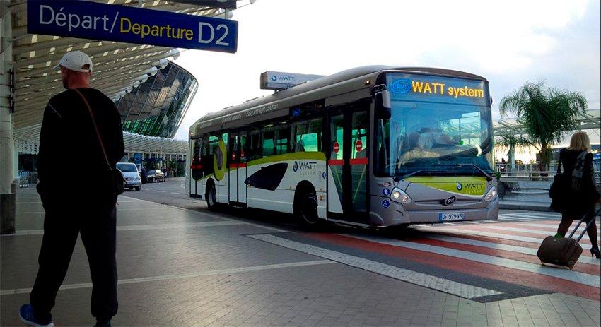 Aéroport de Nice Bus