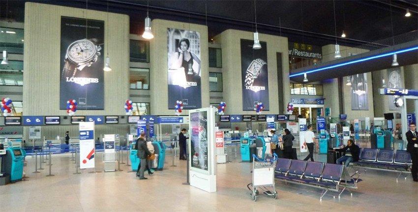 Tableau de départ Aeroport De Nice